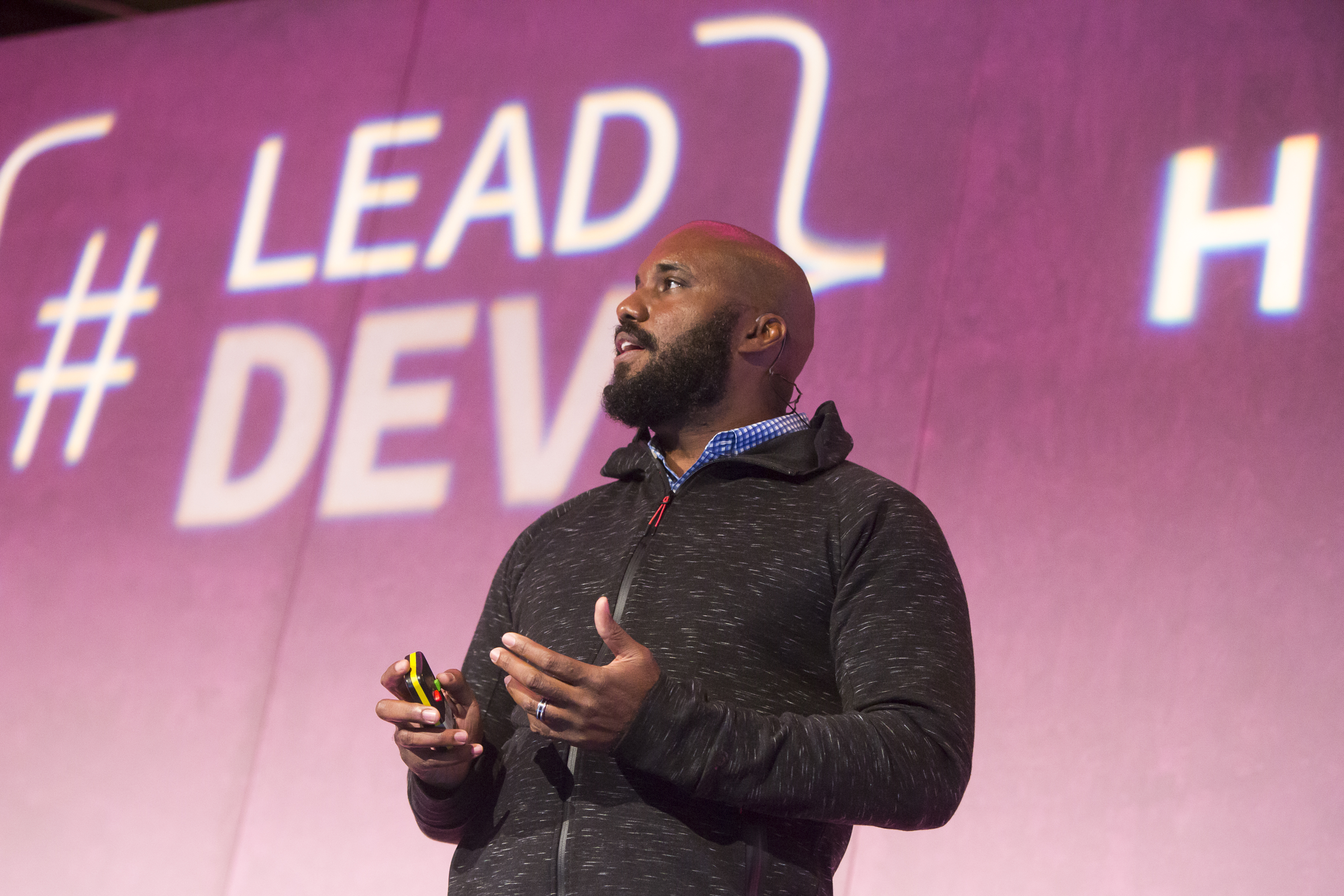 Speaking at The Lead Developer UK in London