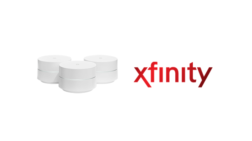 Google Wifi and Xfinity make a great home internet combination.