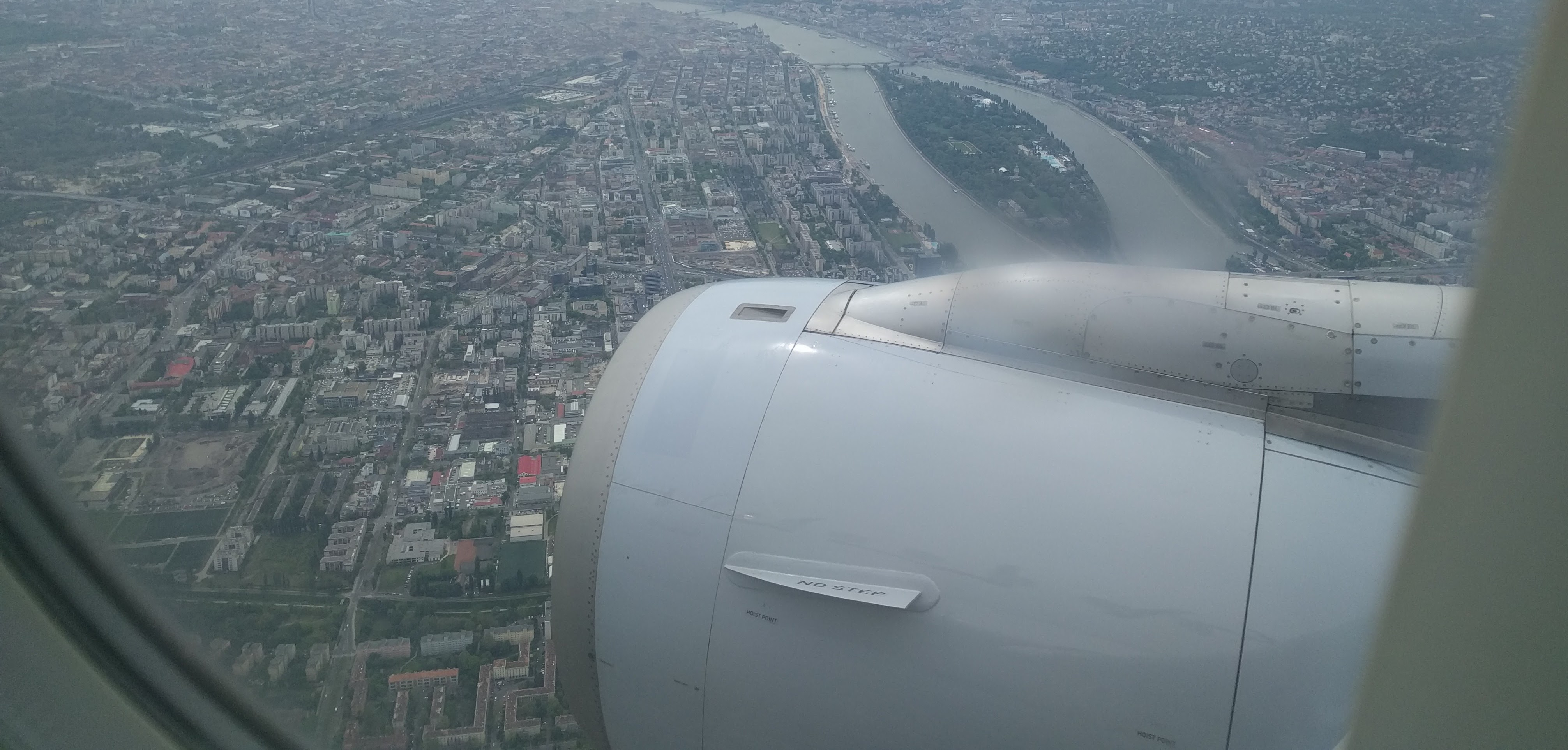 Landing in Budapest for the second time